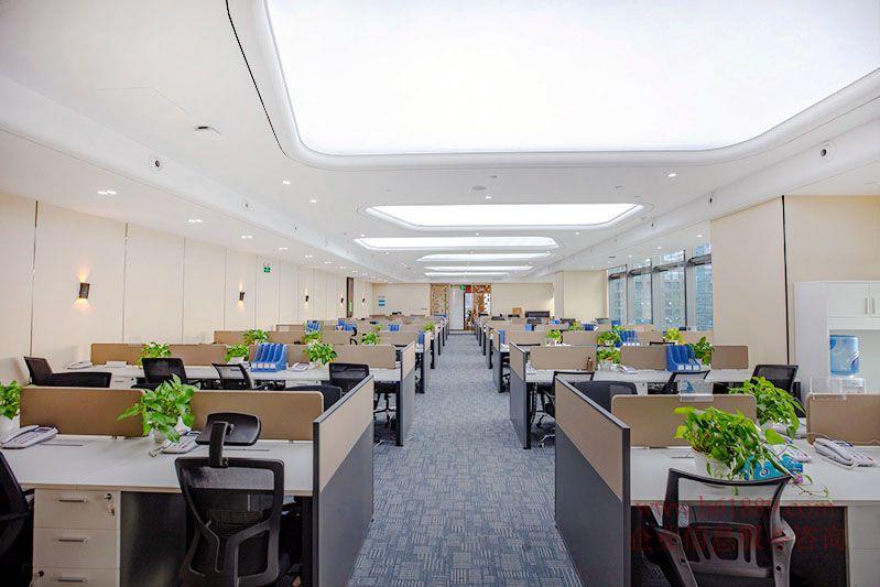 高层百万装修 比肩平安国际金融中心 皇庭中心 全办公